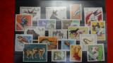 Timbre Romania-Lot Fauna - Animale domestice si salbatice - F307
