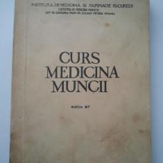 CURS MEDICINA MUNCII - DOCENT PENTRU MANU ( 873 )
