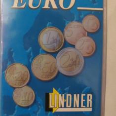 CY - Coperta LINDNER pentru monede EURO