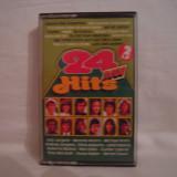 Vand caseta audio 24 Neue Hits .Originala!Raritate!