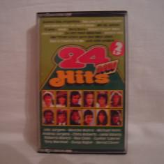 Vand caseta audio 24 Neue Hits .Originala!Raritate!, Casete audio, ariola