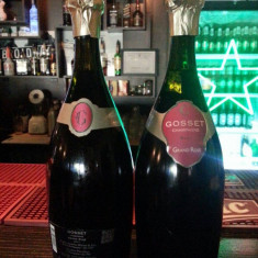 Sampanie Gosset brut Grand rose . FRANTA