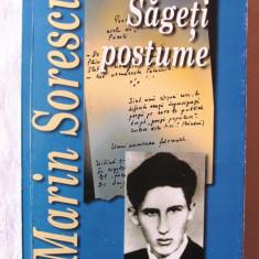 SAGETI POSTUME - Epigrame, Fabule, Parodii, Versuri, Proza scurta, Marin Sorescu - Carte Editie princeps