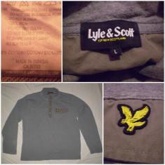 Bluza LYLE & SCOTT (L/XL)original ultras casual sport trening - Bluza barbati, Marime: L, Culoare: Antracit