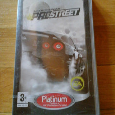 JOC PSP NEED FOR SPEED PROSTREET PLATINUM SIGILAT ORIGINAL / STOC REAL / by DARK WADDER - Jocuri PSP Electronic Arts, Curse auto-moto, 3+, Single player