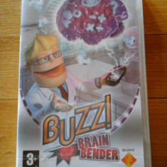 JOC PSP BUZZ! BRAIN BENDER SIGILAT ORIGINAL / STOC REAL / by DARK WADDER - Jocuri PSP Sony, Board games, 3+, Single player