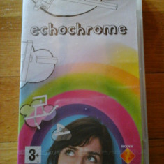 JOC PSP ECHOCHROME SIGILAT ORIGINAL / STOC REAL / by DARK WADDER - Jocuri PSP Sony, Arcade, 3+, Single player