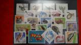 Timbre Romania-Lot Fauna-Animale domestice si salbatice-Reptile - Pasari - F305