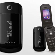 Alcatel OT-668 - Telefon Alcatel, Negru, Nu se aplica, Neblocat, Fara procesor