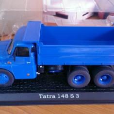 Macheta metal camion 1/43 - TATRA 148 S3 Basculanta - Camioane celebre Atlas - Macheta auto