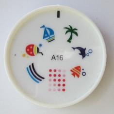 Matrita din silicon modele unghii, fara stampila, disc matrita, model A16