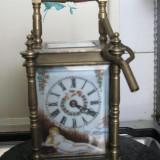 ceas de masa calatorie bronz anul 1800 inceput...reducere