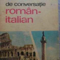 Ghid De Conversatie Roman Italian - Ani Virgil ,524464