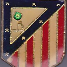 Insigna fotbal ATLETICO de MADRID (Spania)