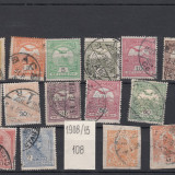 UNGARIA - 1908/13 LOT OLD STAMPS USED - LOT 1 ST