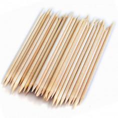 Set de 50 betisoare din lemn pentru impins cuticule