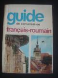 SORINA BERCESCU - GUIDE DE CONVERSATION FRANCAIS ROUMAIN
