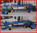 1960 - Macheta camion auto trailer UNIC MZ36 TCA (scara 1/43), 1:43