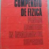 Compendiu De Fizica Pentru Admitere In Invatamantul Superior - I.bunget L.burlacu D.ciobotaru A.costescu V.flores, 524310 - Carte Fizica
