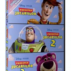 Povestea Jucariilor 1, 2, 3 ( Toy Story 1, 2, 3 ) - Desene dublate in romana - Film animatie disney pictures, DVD