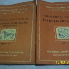 Cursuri zootehnice de 3 ani [animale domestice+oi} 1954 - Roman