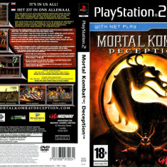 Joc original Mortal Kombat Deception pentru consola PlayStation2 PS2 - Jocuri PS2 Ea Games, Sporturi, Toate varstele, Multiplayer