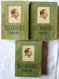 OPERE - 3 vol., Vol. I +II +III, I. L. Caragiale, 1952. Colectia CLASICII ROMANI
