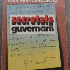 Secretele Guvernarii - Maresalul Ion Antonescu, 524347 - Istorie