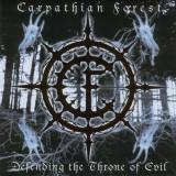 CARPATHIAN FOREST (Norway) – Defending The Throne Of Evil (Black Metal) CD 2003 Sigilat