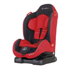 Scaun Auto Santino Isofix 9-25 kg Red - Scaun auto copii grupa 1 (9-25 kg) Coletto, 1 (9-25 kg), Rosu