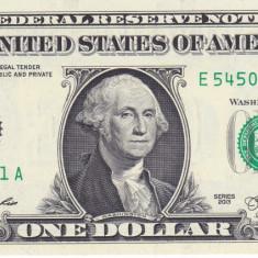 Bancnota Statele Unite ale Americii 1 Dolar 2013 (