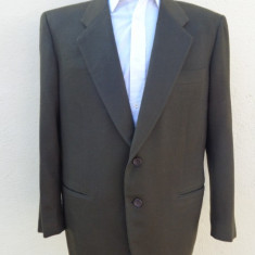 Sacou slim fit Loro Piana -Doeskin - 100% original - Sacou barbati, Marime: 48, Culoare: Din imagine, 2 nasturi, Marime sacou: 48, Normal