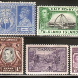 Anglia / Colonii, nestampilate, MH, An: 1948