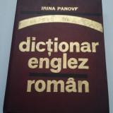DICTIONAR ENGLEZ-ROMAN- IRINA PANOVF ( 990 )