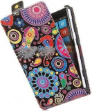 Toc FlipCase Jelly Fish LG Optimus L5 II E460, Piele Ecologica
