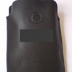 Toc curea CLIP compatibil iPhone 3G - Husa Telefon Apple, Negru, Piele Ecologica