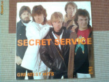 secret service greatest hits best of disc vinyl lp muzica pop rock wifon 1986