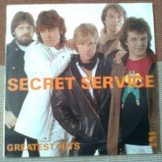 secret service greatest hits best of disc vinyl lp muzica pop rock wifon 1986