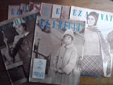 """Lot de 22 reviste de moda """"Ez a divat"""" anii 1960 in limba maghiara"""