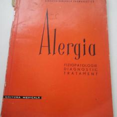 ALERGIA - FIZIOPATOLOGIE DIAGNOSTIC TRATAMENT - N. GAVRILESCU ( 1046 ) - Carte Diagnostic si tratament