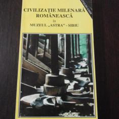 CIVILIZATIE MILENARA ROMANEASCA IN MUZEUL