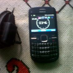 Vand Nokia C3 - Telefon mobil Nokia C3, Gri, Neblocat