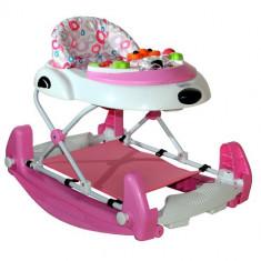 Premergator DHS Baby Swing Roz, 1-3 ani