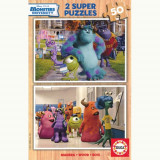 Puzzle Monsters University 2x50 Piese