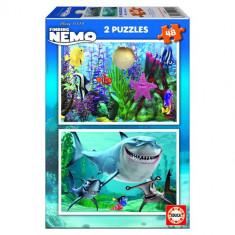 Puzzle Educa Finding Nemo 2x48