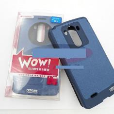 Toc FlipCover EasyView WOW LG G3 ALBASTRU - Husa Telefon LG, Piele Ecologica