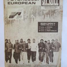 REVISTA SPORT UEFA 1984 DIN IANUARIE 1984