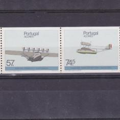 Transporturi aviatie, Azore. - Timbre straine, Nestampilat