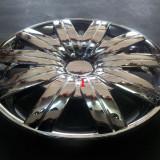 Capace janta de tabla cromate pe marimea 14 - Capace Roti, R 14