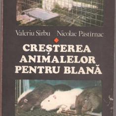 10A(xx)- Valeriu Sirbu-CRESTEREA ANIMALELOR PENTRU BLANA